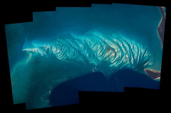 Kompozitní snímek Bahamských ostrovů
