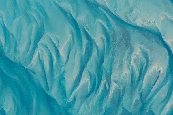 A ještě jednou Bahamy - tentokrát struktury mořského dna.