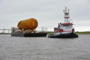 ET-94 vyplouvá z New Orleans