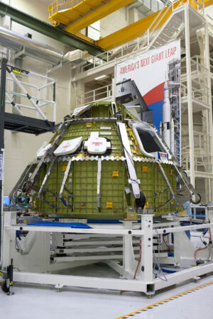 Přetlaková kabina lodi Orion