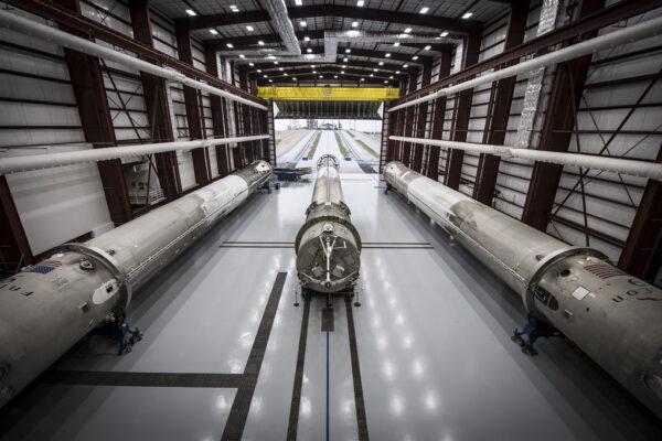 Hangár SpaceX