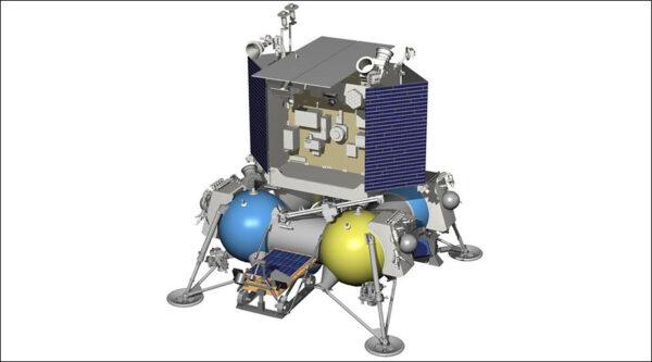 Starší vizualizace ruské mise Luna-27