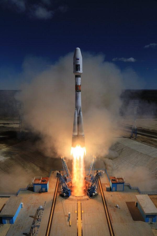 Sojuz 2-1A úspěšně startuje z kosmodromu Vostočnyj