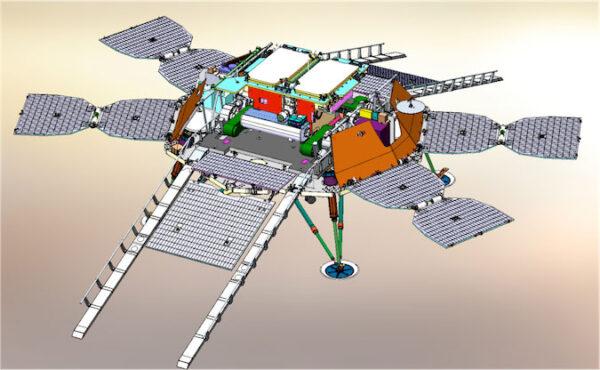 Ruská přistávací plošina, která má dopravit na povrch Marsu průzkumné vozítko