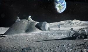 Lunární základna zdroj: esa.int
