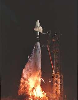 Mariner 5 start, foto: NASA
