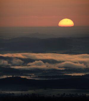 Východ Slunce s Venuší. Foto: Martin Gembec