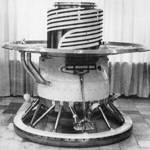 Veněra 9 přistávací modul. Don P. Mitchell