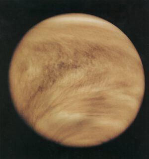 Venuše 26. 2. 1979 ze sondy Pioneer Venus orbiter. NASA