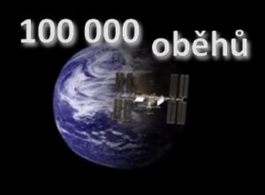 100 000 oběhů ISS