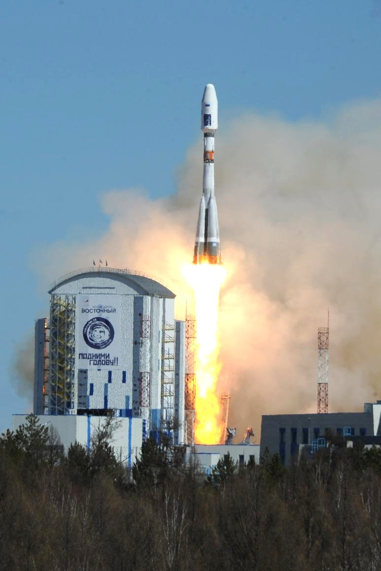 Premiérový start z Vostočného