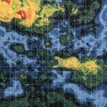 Výřez mapy Venuše ze sondy Pioneer Venus. NASA-Ames/USGS/MIT