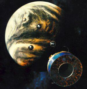 Pioneer Venus uvolňuje přistávací pouzdra. NASA