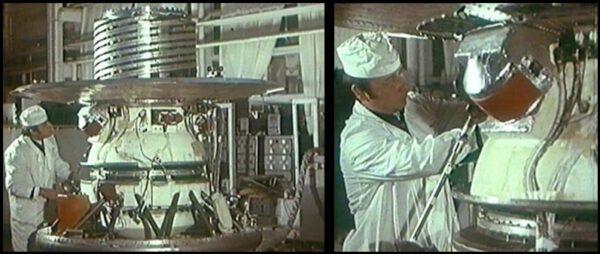 Práce na přistávacím modulu Veněry 9. Don P. Mitchell