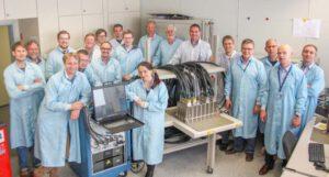 Brémští technici u jednotky PDE