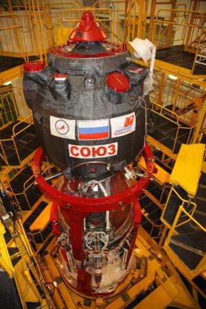 Příprava lodi Sojuz MS-1