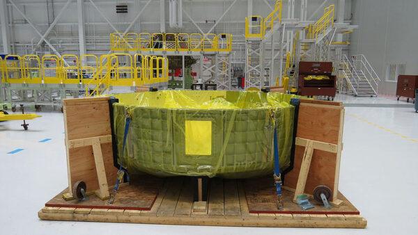 Spodní polovina kabiny exempláře Spacecraft 1