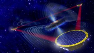 Teoretická podoba budoucí observatoře gravitačních vln