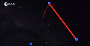 Propojení tří sond pomocí laseru nebude vůbec jednoduché