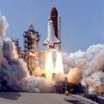 STS-30 Atlantis startuje se sondou Magellan. NASA