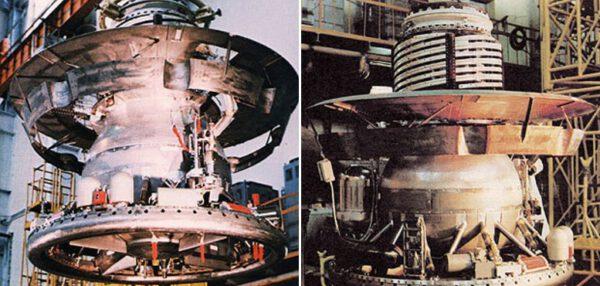 Vega – přistávací modul. Don P. Mitchell