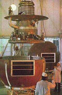Veněra 13 – přistávací sféra a modul. Don P. Mitchell
