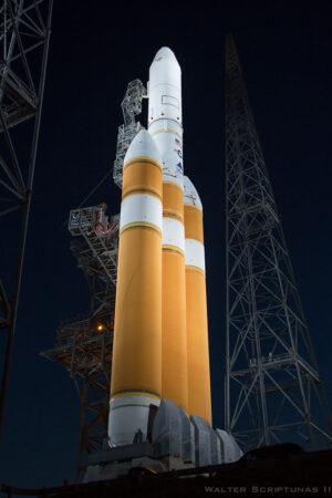 Archivní snímek rakety Delta IV Heavy