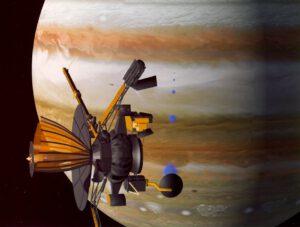 Sonda Galileo u Jupiteru. NASA