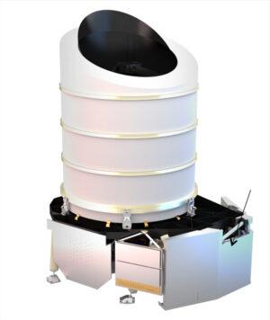 Návrh vnější podoby srdce teleskopu Euclid