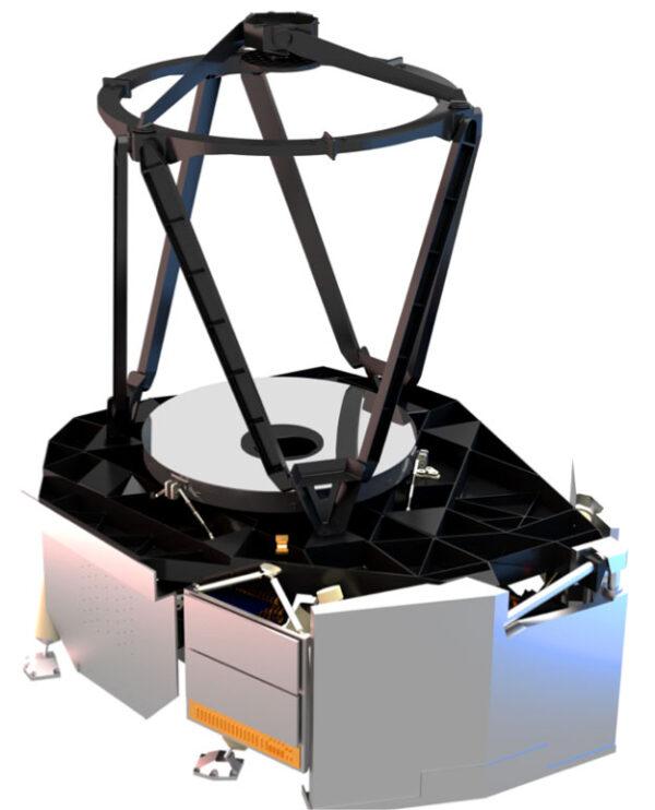 Návrh vnitřní konstrukce přístrojového modulu teleskopu Euclid