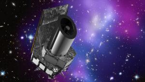 Vizualizace teleskopu Euclid