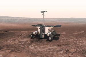 Aktuální podoba vozítka pro misi ExoMars