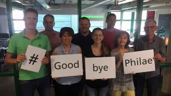 Sbohem, Philae!