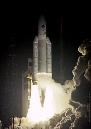Sonda Rosetta startuje na raketě Ariane 5