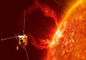 Vizualizace sondy Solar Orbiter