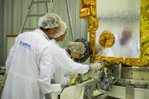 Kontrola družice Sentinel 2B