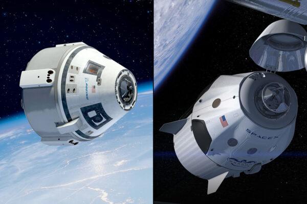 Která z pilotovaných soukromých lodí zakotví u ISS první?