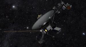 Do oblasti heliopauzy, kde tlak slunečního větru už nestačí na překonání tlaku galaktického záření a je okrajem heliosféry se dostaly i sondy Voyager (zdroj NASA)