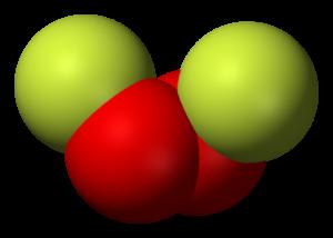 Molekula dioxygen difluoridu