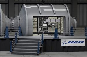 Koncept obytného modulu od firmy Boeing