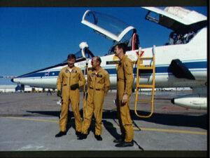 První posádka Skylabu (zleva: Weitz, Conrad, Kerwin)