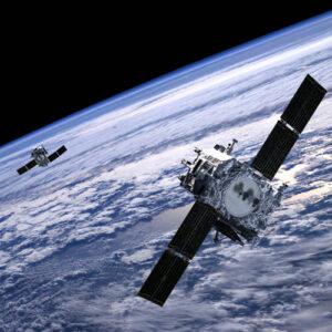 Vizualizace sond STEREO ještě u Země