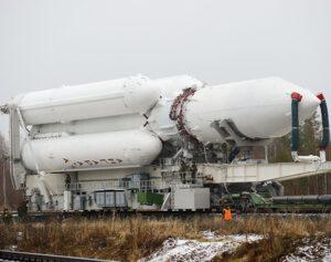 Raketa Angara A5.