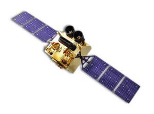 Vizualizace družice Gaofen-1.
