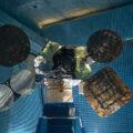 Zničená družice Amos 6