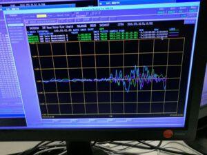 Data potvrzující poslední zážeh Rosetty, který ji poslal na kolizní kurz s kometou.