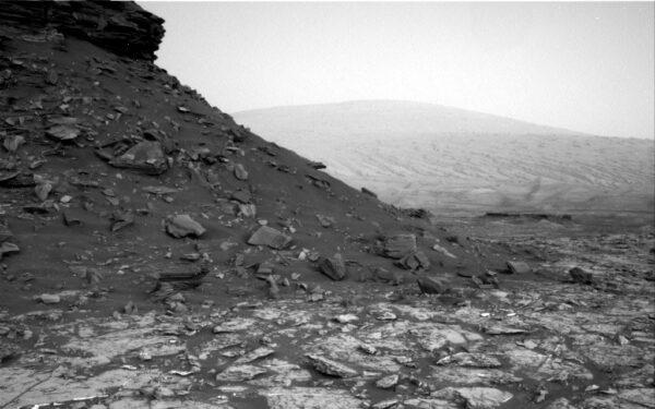 Tímto směrem se nyní Curiosity vydá