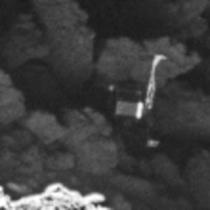 Philae na jádru komety