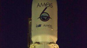 Jedna z mála detailních fotek aerodynamického krytu zničeného Amos 6
