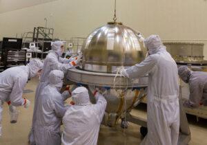 Hlavní nádrž sondy OSIRIS-REx